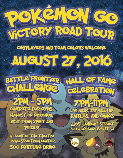 pokemon art show flyer